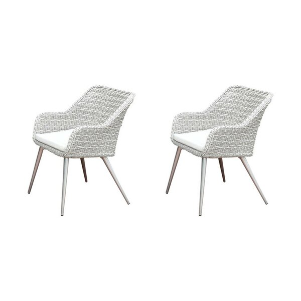 Anemone Armchair (Set of 2) by Bungalow Rose