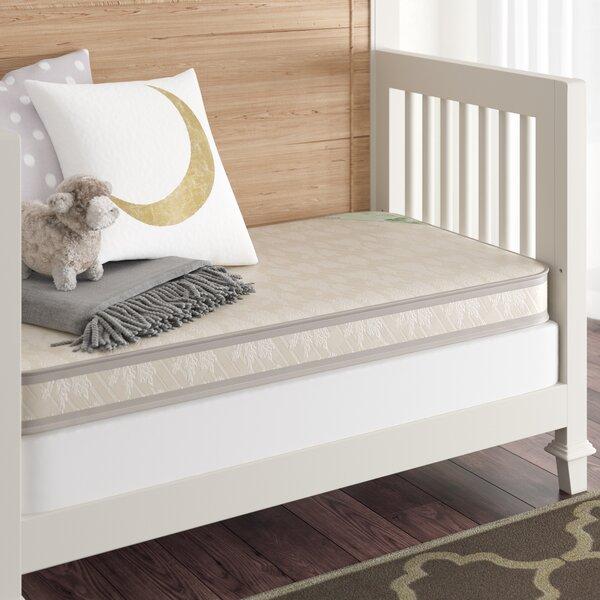 Sheldon 150 Crib & 5 Toddler Bed Mattress by Viv +