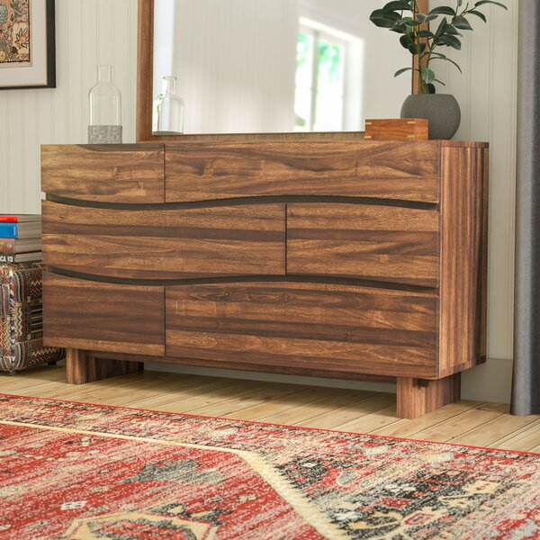 Hiram 6 Drawer Dresser by Mistana