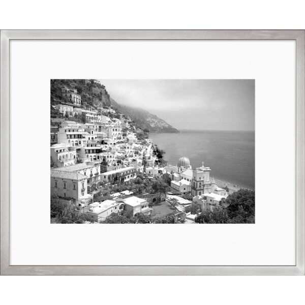 Greece Scene Framed Photographic Print by Darby Home Co