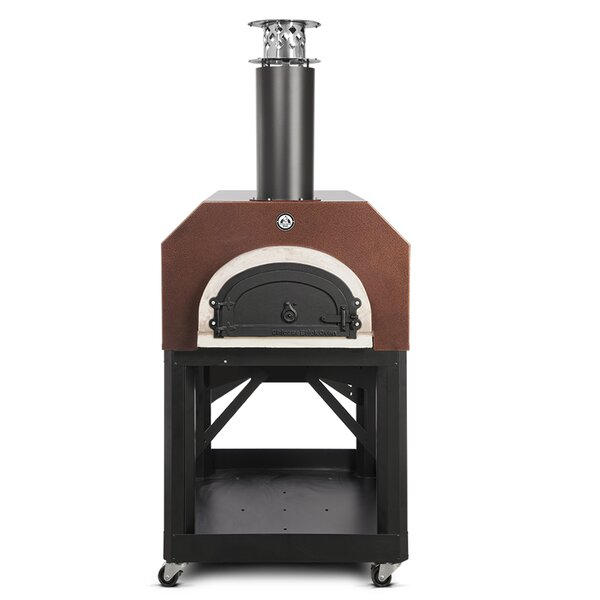Mobile Wood Burning Pizza Oven by Chicago Brick Oven