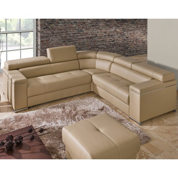 Sleeper Sectional by The Collection German Furniture