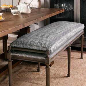 lucy upholstered dining bench
