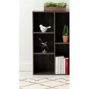 3-Door Wood Storage Standard Bookcase