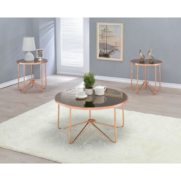 Talamantez 3 Piece Coffee Table Set by Orren Ellis Orren Ellis