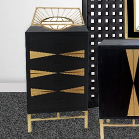 Cathey End Table with Storage by Everly Quinn Everly Quinn