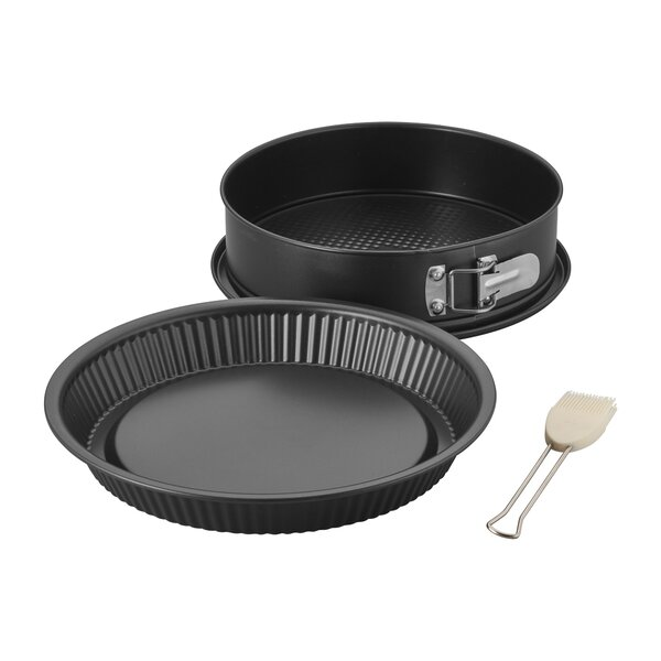 Italy Cooking Round 3 Piece Non-Stick Cake Pan Set by Ballarini