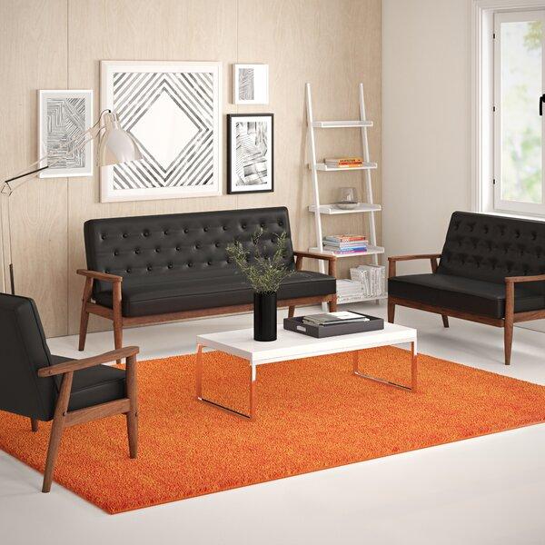 Zoee 3 Piece Living Room Set by Zipcode Design