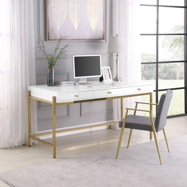 Burien Desk with Chair Set