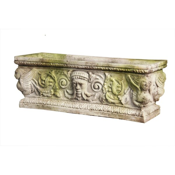 Cast Stone Planter Box by OrlandiStatuary