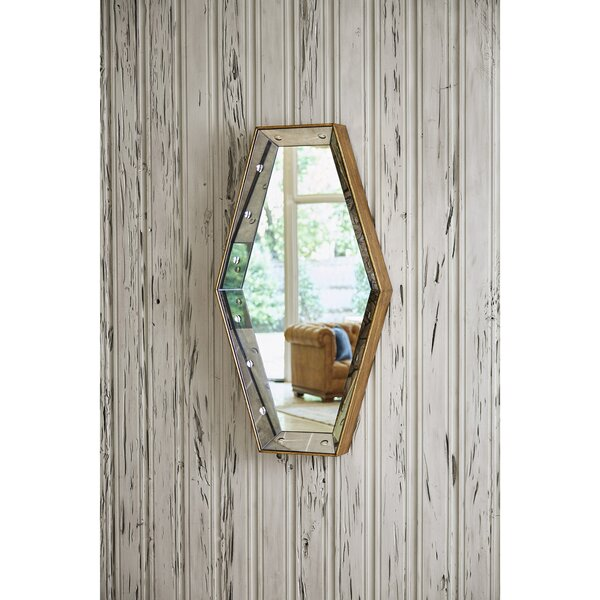 Key Hole Accent Mirror by Ambella Home Collection