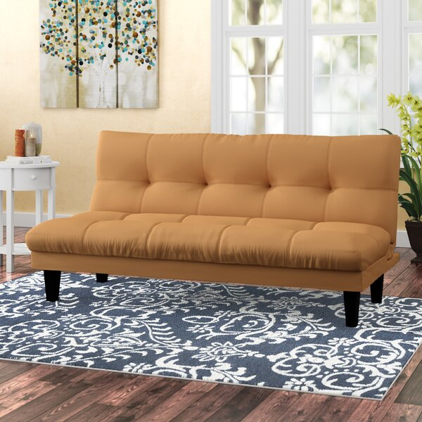Conkle Futon Convertible Sofa by Winston Porter