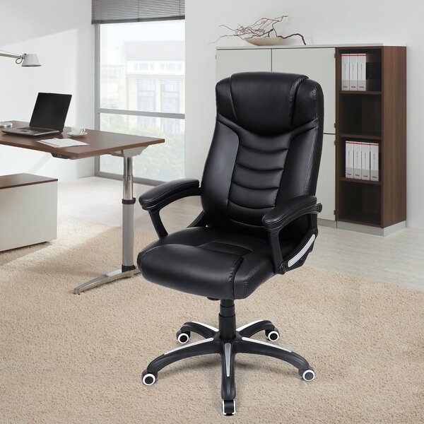 Esquibel Adjustable Swivel Executive Chair by RebrilliantEsquibel Adjustable Swivel Executive Chair by Rebrilliant
