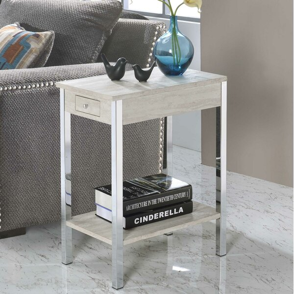 Byromville End Table by Orren Ellis