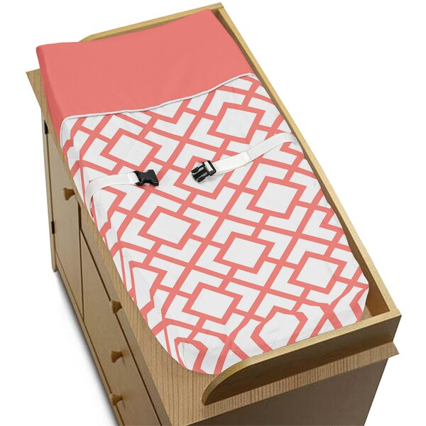 Mod Diamond Changing Pad Cover by Sweet Jojo Designs