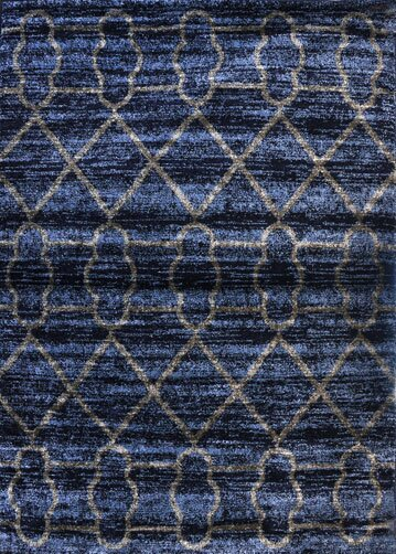 Dark Blue Area Rug by Rug Tycoon