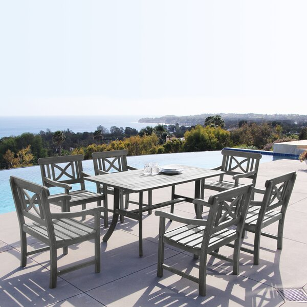Southport 7 Piece Dining Set by Gracie Oaks
