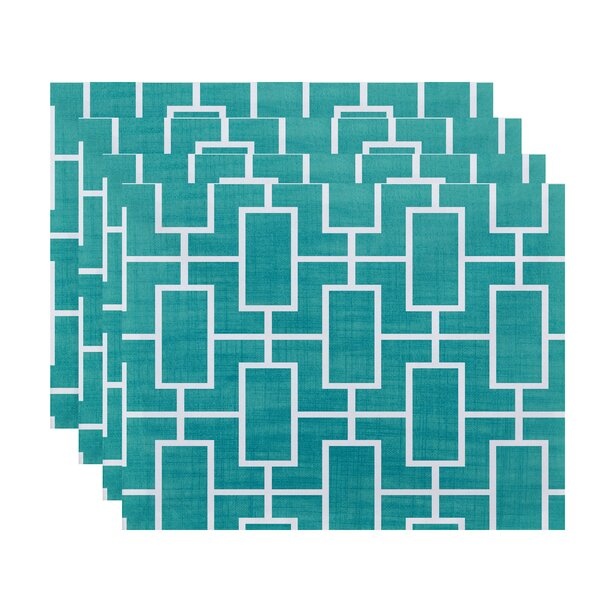 Felice Screen Lattice Placemat (Set of 4) by Ivy Bronx
