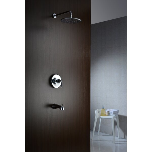 Meno Diverter Tub and Shower Faucet with Valve by ANZZI
