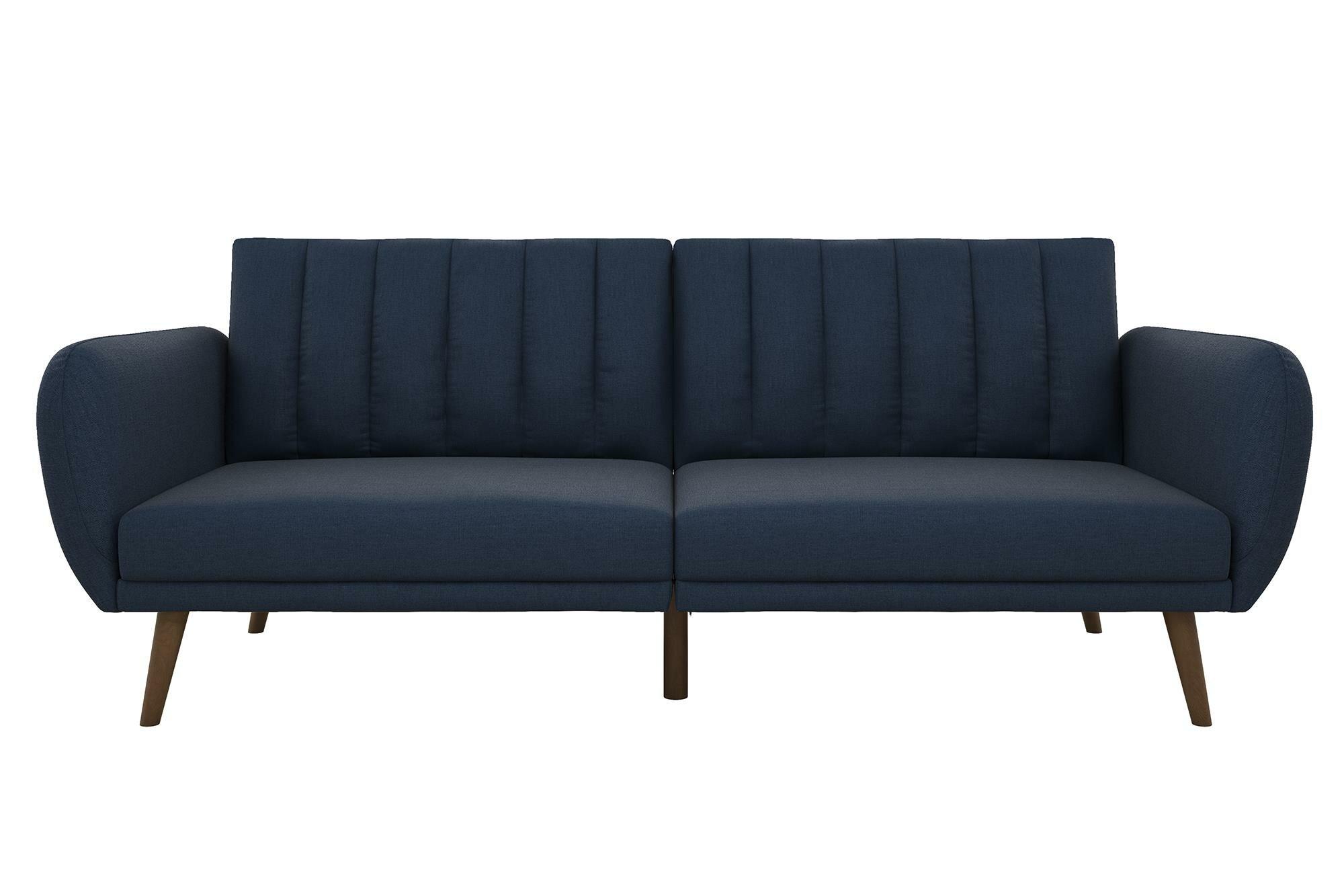 brand new 584f5 0c33f Novogratz Brittany Convertible Sofa