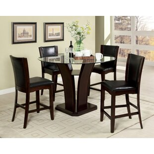 Uptown 5 Piece Pub Table Set By Hokku Designs
