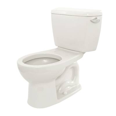 Eco Drake Dual Flush Round Toilet Seat Not Included