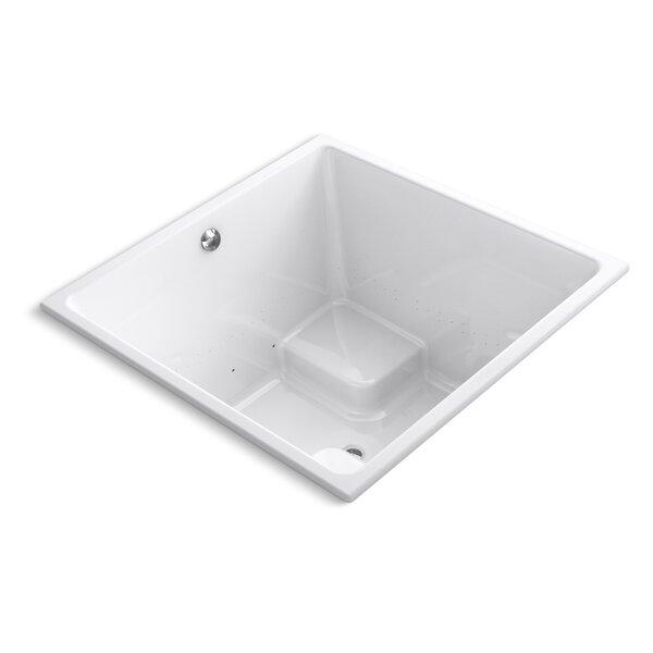 Underscore 48 x 48 Air Bathtub by Kohler