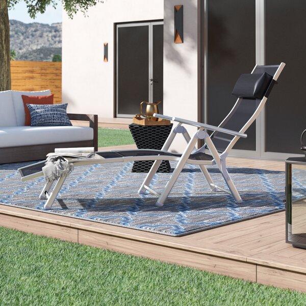 Pelfrey Patio Reclining Chaise Lounge by Latitude Run