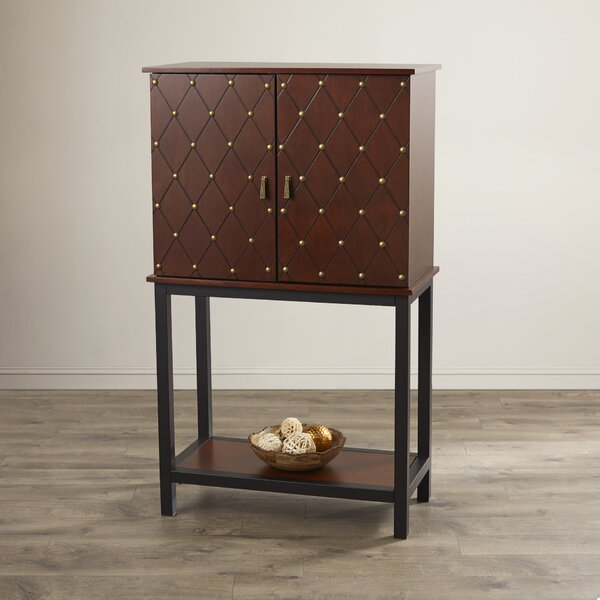 Ackworth Bar Cabinet by World Menagerie World Menagerie