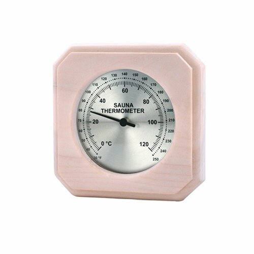 Encased Thermometer by Premium Saunas