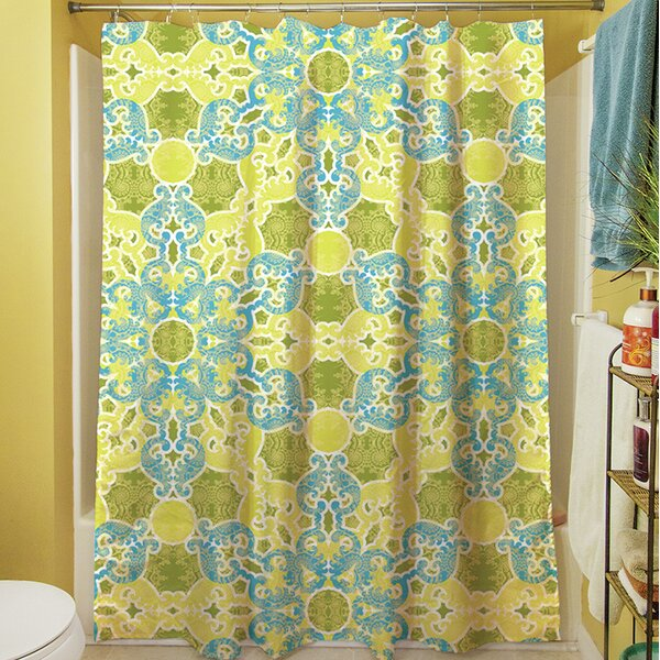 Funhouse Shower Curtain by Manual Woodworkers & Weavers
