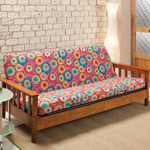 Patterned Box Cushion Futon Slipcover by Andover M