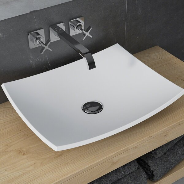 Natura™ Rectangular Vessel Bathroom Sink by Krau