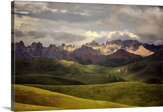 Tibetan Plateau by James Yu Photographic Print on Canvas by Canvas On Demand