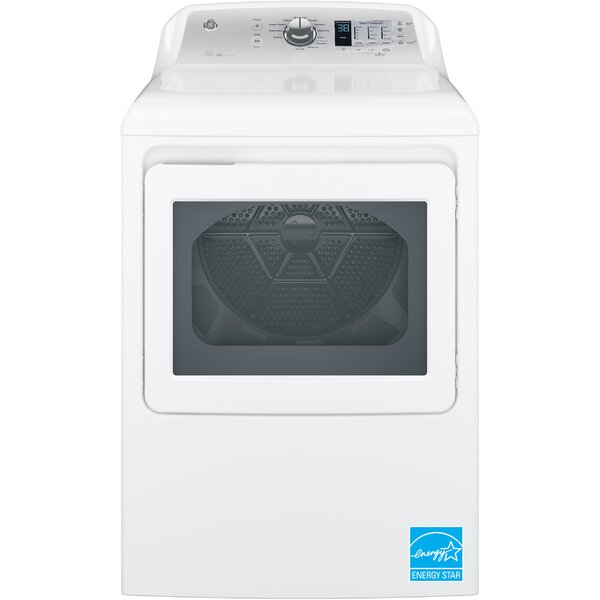 7.4 cu. ft. Electric Dryer with Aluminized Alloy Drum and HE Sensory Dry by GE Appliances