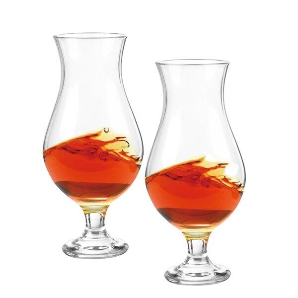 Guild Classic 7 Oz. Malt Glass (Set of 2) by Qualia Glass