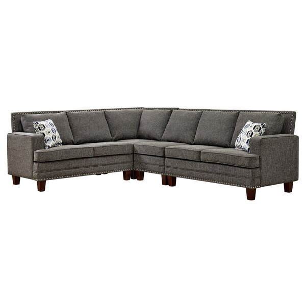 Discover The Latest And Greatest Krall Symmetrical Modular Sectional by Red Barrel Studio by Red Barrel Studio