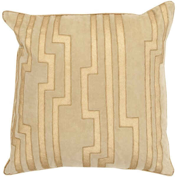 Naudain Throw Pillow Cover by Brayden Studio