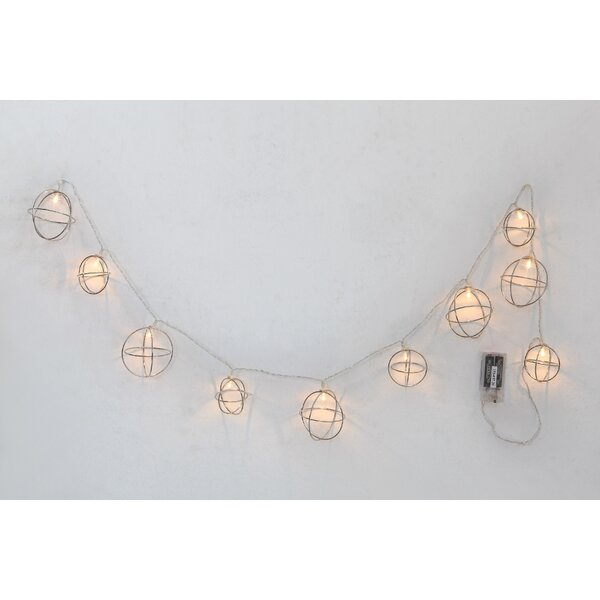 LED Chain 10 Light String Light by The Holiday Aisle