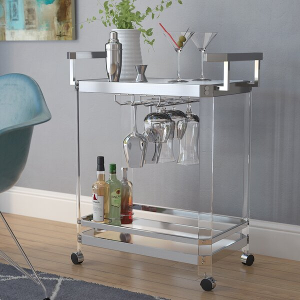Bales Server Bar Cart by Wade Logan