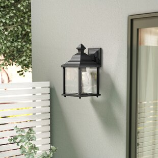 Reviews Talmadge Modern 1-Light Outdoor Wall Lantern By Laurel Foundry Modern Farmhouse