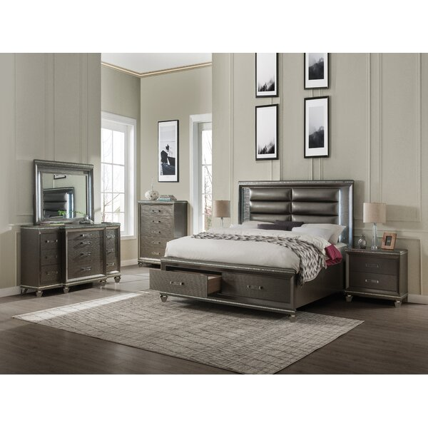 Garr Platform Configurable Bedroom Set By Everly Quinn