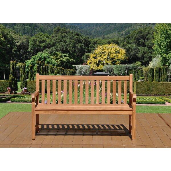 Ruckus Teak Garden Bench by Darby Home Co