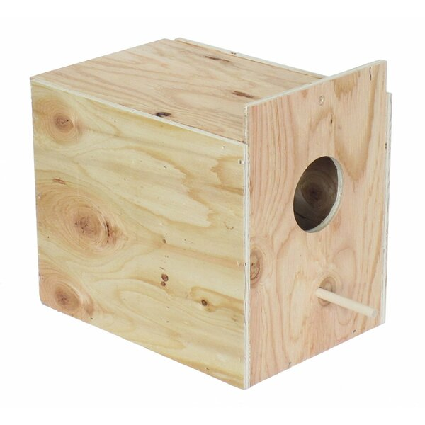 Orion Wooden Nest Box by Tucker Murphy Pet