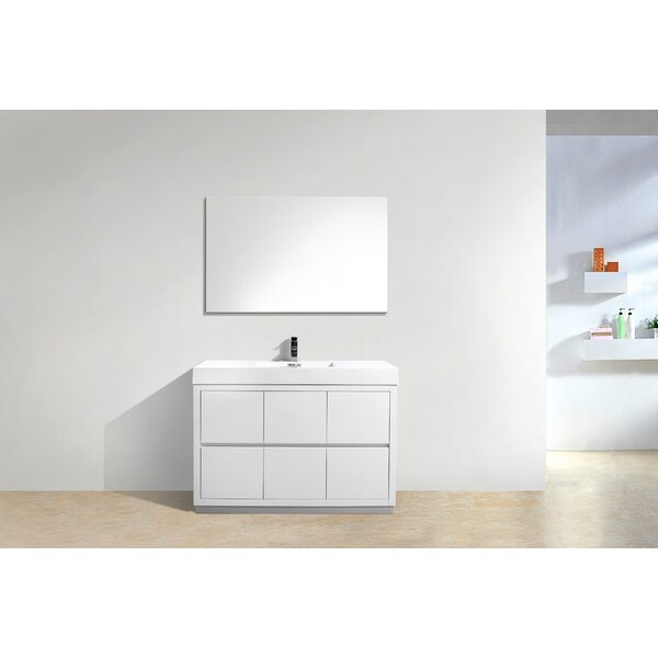 Tenafly 48 Single Bathroom Vanity Set by Wade Logan