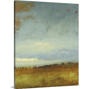 'Summer Time' by Lisa Ridgers Painting Print on Wrapped Canvas by Great Big Canvas