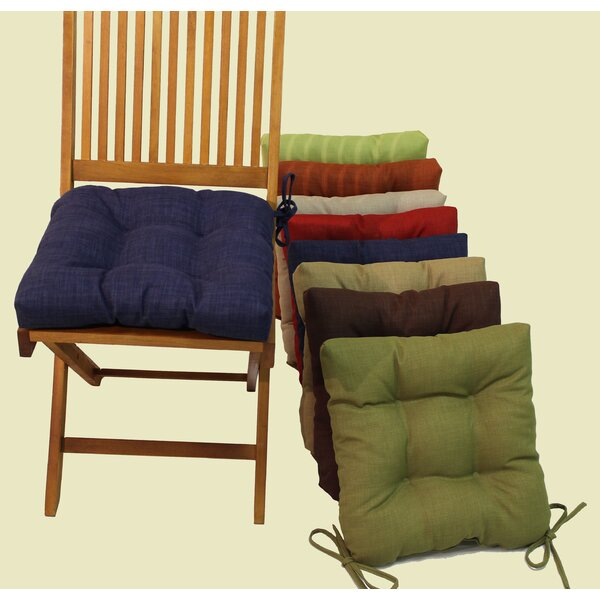 Tropique Indoor/Outdoor Adirondack Chair Cushion (Set of 4) by Blazing Needles