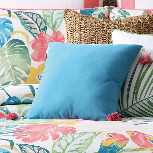 Hamburg Decorative Dip Dyed Tasse Cotton Throw Pillow by Beachcrest Home