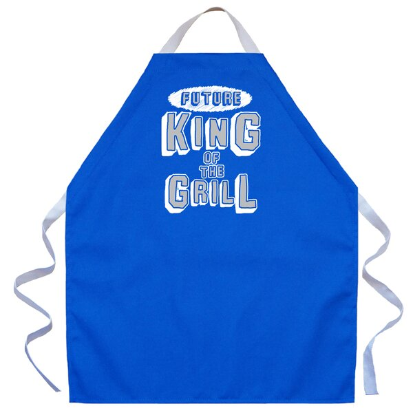 Future King Apron in Royal by Attitude Aprons by L.A. Imprints