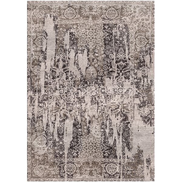 Aliza Handloom Brown/Beige Area Rug by Bungalow Rose